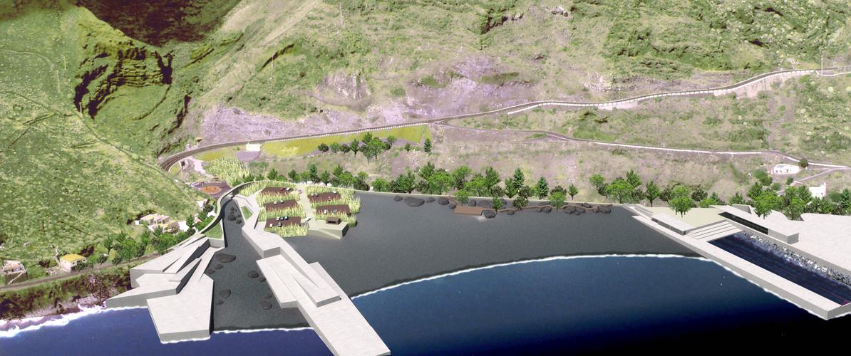 Zona de la playa de la propuesta para el concurso de la Playa del Varadero y su Entorno