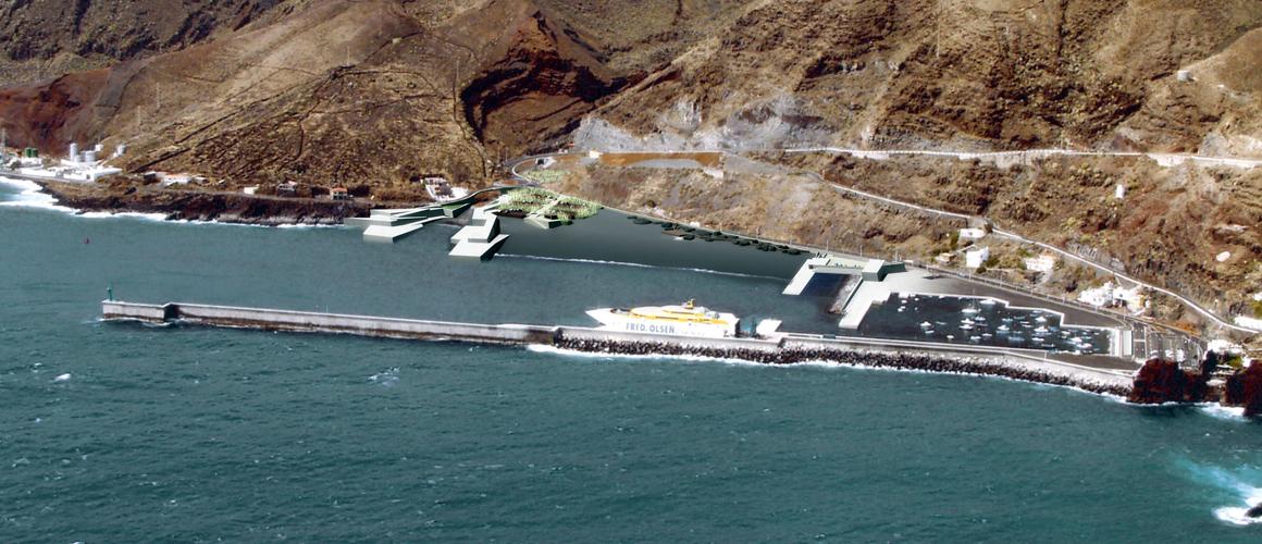 Vista general de la propuesta para el concurso de la Playa del Varadero y su Entorno
