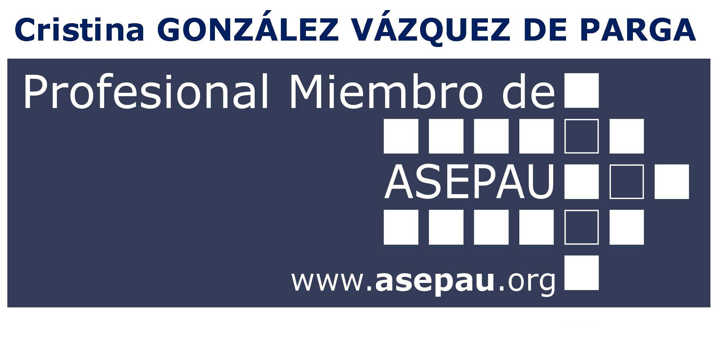 Logo Profesional Miembro de ASEPAU